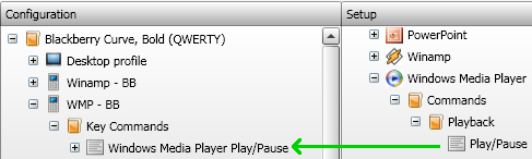 Windows Media Player Command Example