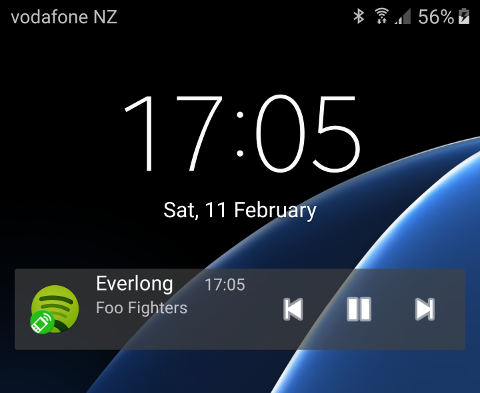Lock Screen Remote Widget